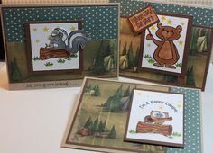 camping cards made by Kimberly.