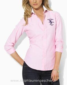 ralph lauren chemise pour femmes mode 2012 rose Chemise Manche Courte Ralph Lauren