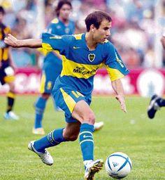 Palacio y un romance que apenas comienza  Rodrigo Palacio, uno de los jugadores clave en la consagración de Boca