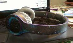 Gregory's Beats that he customized himself! www.styleflip.com #Beatsbydre #drdre #dre #dj #headphones #technology #music #laptop #skins