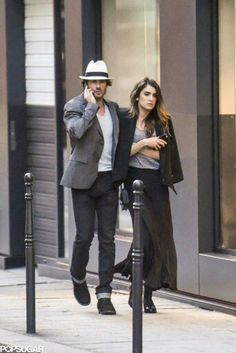 Ian & Nikki out in Paris 26/5/15