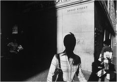 """Ray Metzker's images question the nature of the photograph and photographic """"reality."""" Through cropping, multiple imagery, and other formal inventions, ..."""