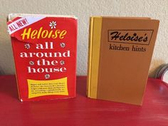 Vintage Heloise's Kitchen Hints Heloise All Around the House 1960's Housewife Se    eBay