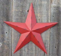 Rustic Genuine  Amish Quality Primitive 48 inch Barn Star USA Made DARK GREEN
