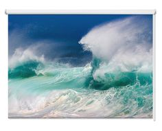 No Wave, Beach Canvas Art, Beach Art, Photo Canvas, Framed Canvas, Print Pictures, Cool Pictures, Sea Pictures, Framed Pictures