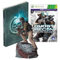 Ghost Recon Future Soldier Limited Edition XBOX Video Game  Statue  Steelbook Xbox 360 * To view further for this item, visit the image link. Note:It is Affiliate Link to Amazon.