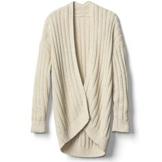 Gap Women Cozy Ribbed Open Front Cardigan (55 PEN) ❤ liked on Polyvore featuring tops, cardigans, sweaters, jackets, outerwear, brown cardi, open front cardigan, rib top, open cardigan and brown cardigan