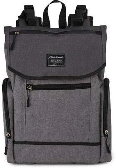 With all the bells and whistles, this Eddie Bauer backpack diaper bag offers outdoor fashion and functional equally. Eddie Bauer Diaper Bag, Eddie Bauer Baby, Buy Backpack, Diaper Bag Backpack, Dad Diaper Bag, Diaper Bags For Dads, Hospital Bag For Mom To Be, Outdoor Fashion, Bag Storage
