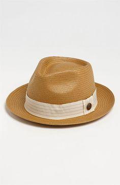 Men s Goorin Brothers  Snare  Straw Fedora - Beige Sombreros Hombre c6733d63eaa