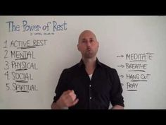 The Power of Rest by Matthew Edlund - Brian Johnson's PhilosophersNotes