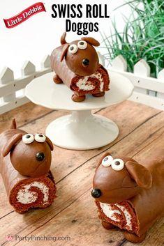 Puppy Birthday Cakes, Themed Birthday Cakes, Dog Birthday, Themed Cakes, Birthday Cakes For Kids, Puppy Dog Cakes, Puppy Cupcakes, Dog Themed Parties, Dog Themed Food