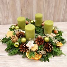 This naturally decorated advent wreath made of fresh fir, juniper and book . - This naturally decorated Advent wreath made of fresh fir, juniper and boxwood is hand-tied and bring - Christmas Makes, Winter Christmas, Christmas Time, Easter Wreaths, Christmas Wreaths, Christmas Crafts, Advent Wreath, Diy Wreath, Christmas Wonderland