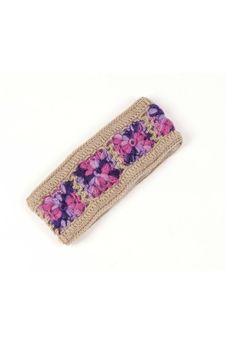 Shoptiques Product: Flower Crochet Headband - main