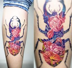 Your Eyeballs Will Love These Vibrant And Extraordinary Tattoos By Andrey Lukovnikov