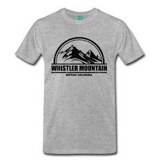 Whistler Mountain Ski Resort National Park British columbia Canada