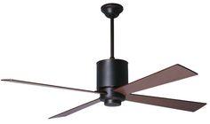 Lapa Ceiling Fan, Mahogany Blades $405