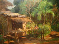 Fernando Amorsolo 1892-1972 | Filipino Genre and Historical painter | Tutt'Art@ | Pittura * Scultura * Poesia * Musica |