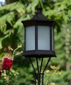 Solar Lantern Sconce Frosted Glass | Starlite Patio