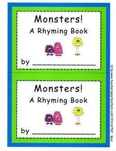 Kindergarten Teachers, Teacher Pay Teachers, Basic Sight Words, Emergent Readers, Elementary Education, Classroom Activities, First Grade, Spelling, Monsters