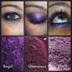 Looking for gorgeous purple eyes....Try our natural mineral pigments. https://www.youniqueproducts.com/KellyTalbot