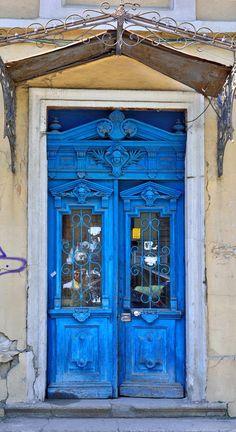 Lviv; Ukraine door
