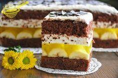Popularne ciasto zmodyfikowałam wg swoich preferencji; wyłączyłam ze składu alkohol, wiórki kokosowe i parę innych składników by podkreślić ...