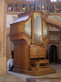 Annaberg - Sankt Annen-Kirche, small organ by pietbron, via Flickr