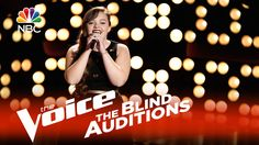 """The Voice 2015 Blind Audition - Treeva Gibson: """"Young and Beautiful"""""""
