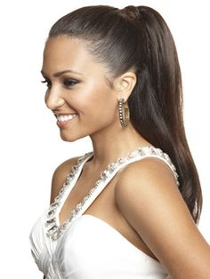 A sleek and stylish pony is the perfect hairstyle for all-night dancing. Find out how to achieve it from Seventeen.com! #prom2013 #promhairstyle #prom