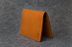Handmade leather card wallets by Sonder Leather