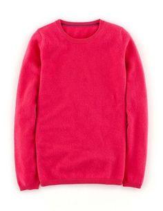 Cashmere Crew Neck Sweater