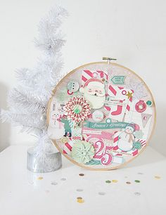 Crate Paper Holiday Pinboard: Bundled Up those Christmas Memories w/Jeanette Lee