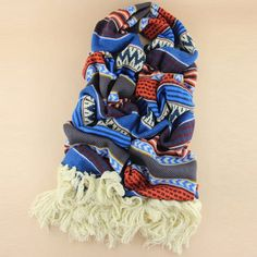 Stylish Tassels Design Color Splicing Knitted Scarf For Women Cheap Scarves, Autumn Fashion Casual, Wool Scarf, Womens Scarves, Design Color, Women Accessories, Tassels, Stylish, Cute