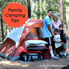 The Great American Backyard Campout PLUS family camping tips