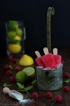 Rose Lemonade Popsicles | Con Aroma de Vainilla