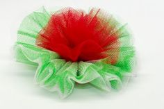 Tulle Carnation Bow