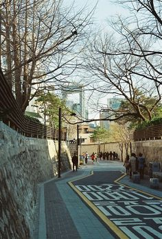 Seoul street is so clean n nice condition😍😍😍 Seoul Photography, South Korea Photography, Travel Photography, South Korea Seoul, South Korea Travel, The Places Youll Go, Places To Go, Korea Wallpaper, City Aesthetic