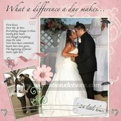 Wedding Scrapbook Design Ideas ours is done but has some good layouts
