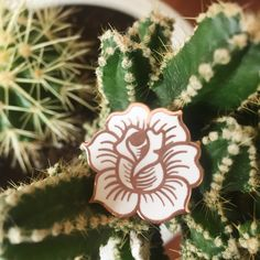 Rose Lapel Pin - Thumbnail 1