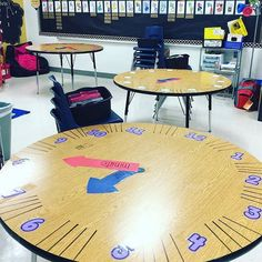 If only I had a round table in my classroom!