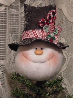 A snowman Tree Topper