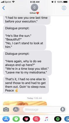 I like the time loop dialogue