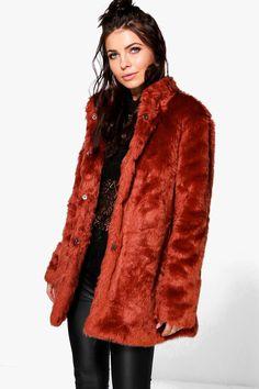 Louisa Faux Fur Jacket