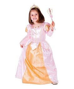 Look what I found on #zulily! Pink Ball Gown Dress-Up Set - Toddler & Girls #zulilyfinds