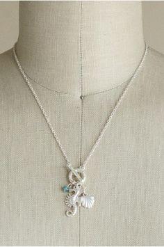 Seahorse Charm Necklace   shopgofish.com