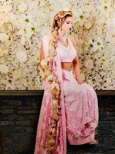 Rapunzel in pink dress | Indian Disney Princesses | Amrit Photography