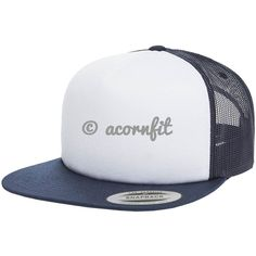 3d424be0 Shop for Wholesale Yupoong Navy With White Front Panel Sponge Foam Trucker  Hat and Order for Custom Design Logo and Custom Embroidery to Hats.