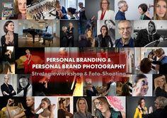 Personal Branding Strategieworkshop + Foto-Shooting. 3 Termine im Juli und August.
