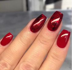 Nail Stamping Queen UK (nailstampingqueenuk) on Somegram Ruby Nails, Nail Jewels, Foil Nails, Nail Stamping, Manicure And Pedicure, Christmas Nails, You Nailed It, Nail Designs, Nail Art