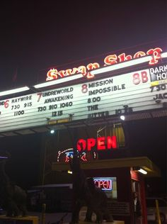 Swap Shop, drive in theater- Fort Lauderdale, FL